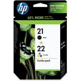 HP No. 21/22 Black and Tri-color Ink Cartridge - C9509FN140