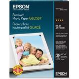 Premium Photo Paper, 68 lbs., High-Gloss, 8-1/2 x 11, 25 Sheets/Pack  MPN:S042183