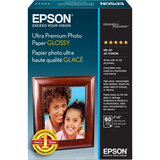 Ultra-Premium Glossy Photo Paper, 79 lbs., 4 x 6, 60 Sheets/Pack  MPN:S042181