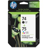 HP No.74/75 Black /Tri-Color Ink Cartridge - CC659FN140