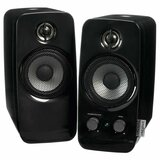 Creative Inspire T10 2.0 Speaker System - 10 W RMS - Black 51MF1601AA005