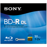 Sony 2x BD-R Dual Layer Media