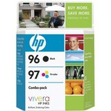 HP 96 / 97 Black and Tri-color Ink Cartridges - C9353FN140