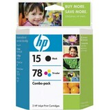 HP No. 15D / 78D Combo Pack - C8789FN140