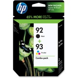 HP No. 92 / 93 Black and Tri-color Ink Cartridges - C9513FN140