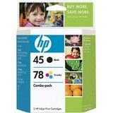 HP No. 45A / 78D Black and Tri-color Ink Cartridges - C8788FN140