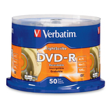 Verbatim LightScribe 16x DVD-R Media - 96166