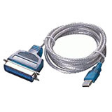 MPT USB to Parallel Printer Adapter Cable