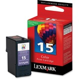 Lexmark No.15 Tri-Color Ink Cartridge - 18C2110