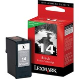 Lexmark No.14 Black Ink Cartridge