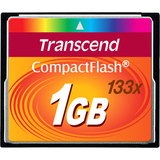 Transcend 1 GB CompactFlash (CF) Card TS1GCF133
