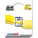 Dane-Elec 8GB Secure Digital High Capacity (SDHC) Card - DASD8192R