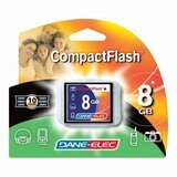 Dane-Elec 8GB CompactFlash (CF) Card - 43x