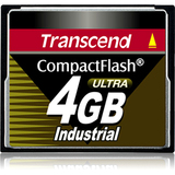 Transcend 4GB Ultra Speed Industrial Compact Flash (CF) Card