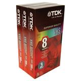 Standard Grade VHS Videotape Cassette, 8 Hours, 3/Pack  MPN:38240