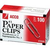 Acco Economy #3 Paper Clips