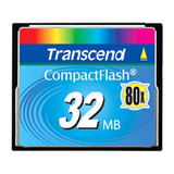 Transcend 32 MB CompactFlash (CF) Card
