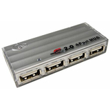 Cables Unlimited 4-Port USB 2.0 Hub