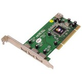 SIIG 4 Port Dual Profile Hi-Speed USB 2.0 PCI Adapter