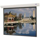 "Da-Lite Designer Contour Electric Projection Screen - 99"" - 1:1 - Wall Mount, Ceiling Mount 89718W"