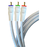 Accell Green Component Video Cable
