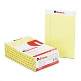 Universal Office Perforated Edge Writing Pad