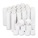 "Adding Machine/Calculator Roll, 16 lb, 1/2"" Core, 2-1/4"" x 126 ft,White, 100/CT  MPN:35705"