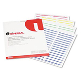 Universal Office Laser Printer File Folder Label