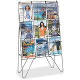 Safco Freestanding Wire Brochure Display Stand