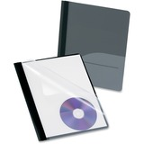 Esselte Oxford Clear Front Report Cover with CD Slot