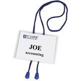 C-Line Bolo Cord Hanging Style Name Badge Kit