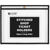 C-Line Shop Ticket Holders, Stitched