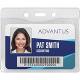 Advantus Horizontal Security Badge Holder