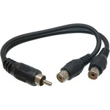 Hosa YRA104 Y-Cable