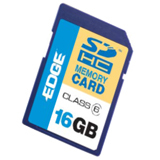 EDGE Tech 16GB Secure Digital High Capacity (SDHC) Card -(Class 6)