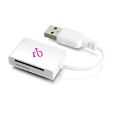 Aluratek SDHC / microSD / miniSD USB 2.0 Multi-Media Card Reader AUCR202