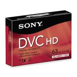 Sony DVC HD Videocassette DVM63HDR