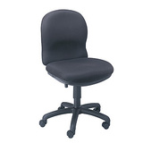 Safco Ambition 3461BL Push Button Mid Back Management Chair