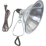 Woods 18/2 SPT-2 6' White Clamp Lamp With 8-1/2