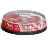 TDK 4x DVD-RW Media