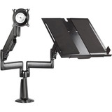 Chief KGL220B Laptop Dual Swing Arm Desk Mount