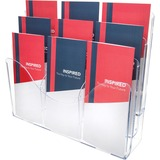 Deflect-o Three Tier Document Organizer with Dividers
