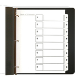 Legacy Table Of Contents Divider