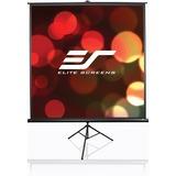 "Elite Screens Tripod T100UWH Manual Projection Screen - 100"" - 16:9 - Floor Mount, Portable T100UWH"