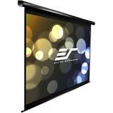 "Elite Screens VMAX2 VMAX99UWS2 Electric Projection Screen - 99"" - 1:1 - Wall/Ceiling Mount VMAX99UWS2"