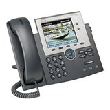 Cisco Unified 7945G IP Phone - Dark Gray, Silver CP-7945G-CCME