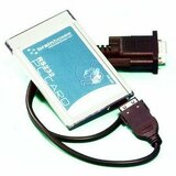 Brainboxes 1 Port RS-232 Serial PCMCIA Card