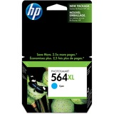 HP 564XL Ink Cartridge - Cyan CB323WN#140