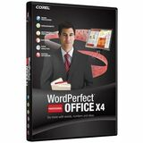 Corel WordPerfect Office X4 Professional Edition - Upgrade Package - 1 User WPX4PROENDVDUG