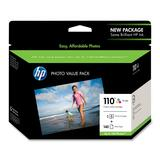 HP No. 110 Tri-Color Ink Cartridge Value Pack